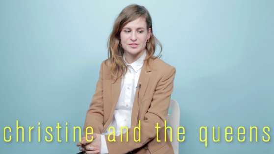 Christine and the Queens Nylon interview.