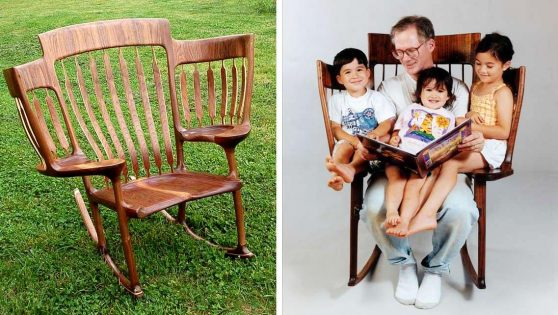 THIS IS THE ROCKING CHAIR TO END ALL ROCKING CHAIRS