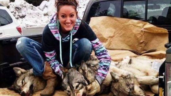 The Lion killers daughter with wolves….