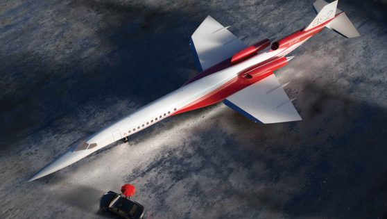 THIS SUPERSONIC JET CAN TAKE YOU FROM NYC TO LONDON UNDER 3 HRS