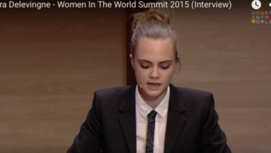 If you weren't a fan of Cara Delevingne you will be now. A MUST WATCH!