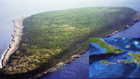 The Secret Island between Jamaica and Haiti: Navassa Island.