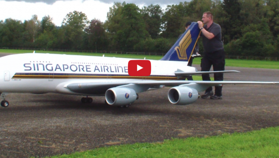 The Largest Remote Controlled Airbus Flies At Airshow and it is EPIC!!