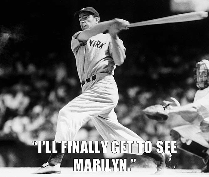 Joe Dimaggio Talking About His Former Wife, Marilyn Monroe