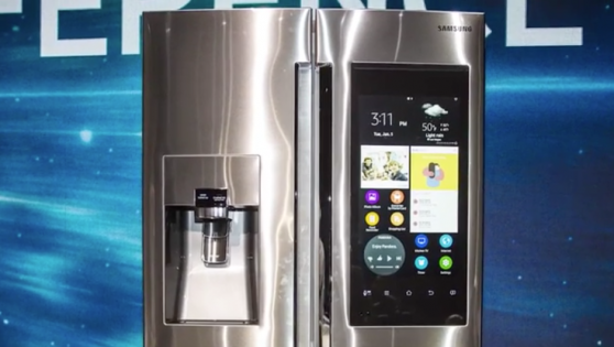 Shop from your fridge? The future is now…