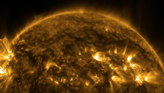 Thermonuclear Art: The Beauty Of Solar Winds