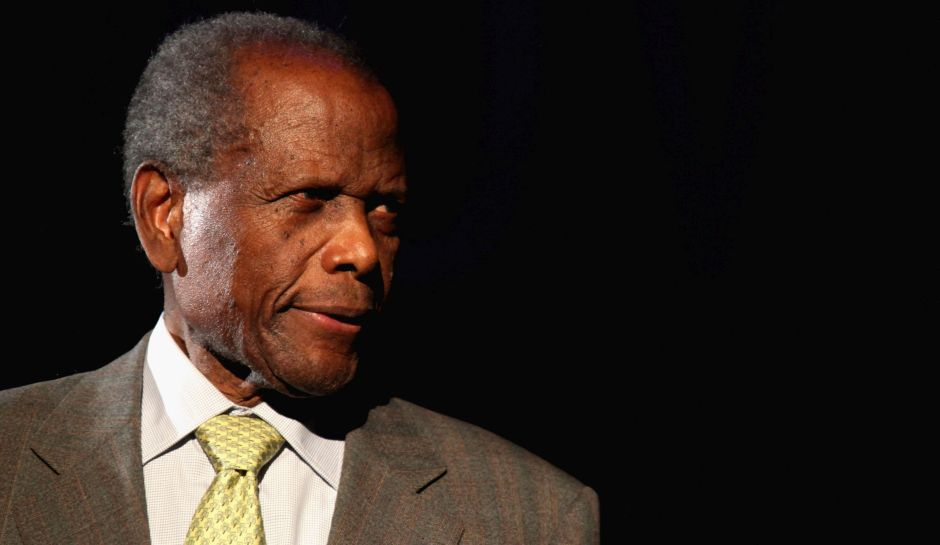 "HOLLYWOOD, CA - APRIL 24:  Actor Sidney Poitier presenting ""In the Heat of the Night"" at Target Presents AFI's Night at the Movies at ArcLight Cinemas on April 24, 2013 in Hollywood, California.  (Photo by Tommaso Boddi/Getty Images for AFI)"