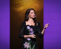 Ashley Judd at TEDWomen 2016 - It's About Time,  October 26-28, 2016, Yerba Buena Centre for the Arts, San Francisco, California. Photo: Marla Aufmuth / TED
