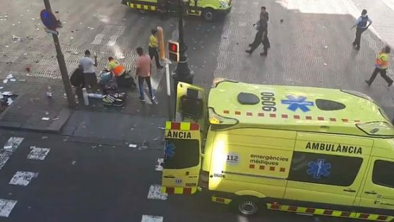 There Has Been A Suspected Terrorist Attack In Barcelona