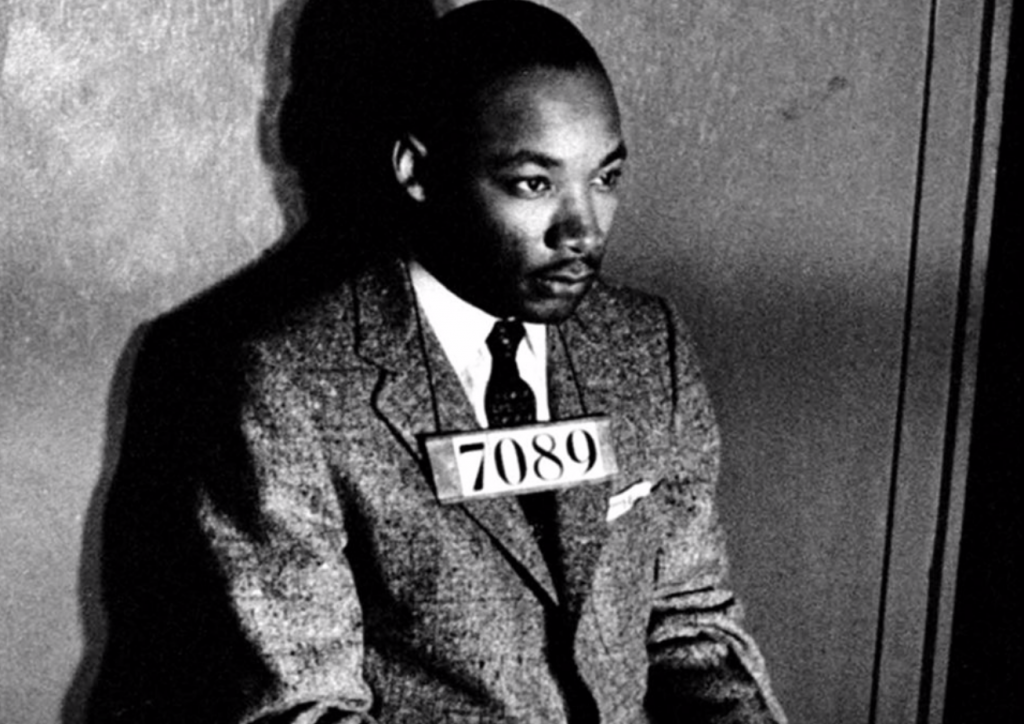 Martin Luther King Jr in a Birmingham Jail