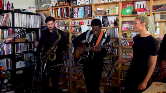 Leon Bridges Tiny Desk