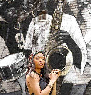 The Routes of Inspiration of Blues & Soul Singer Acantha Lang